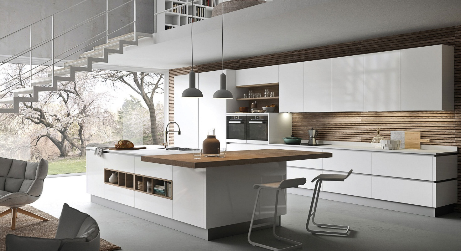 طراحی آشپزخانه مدرن 16