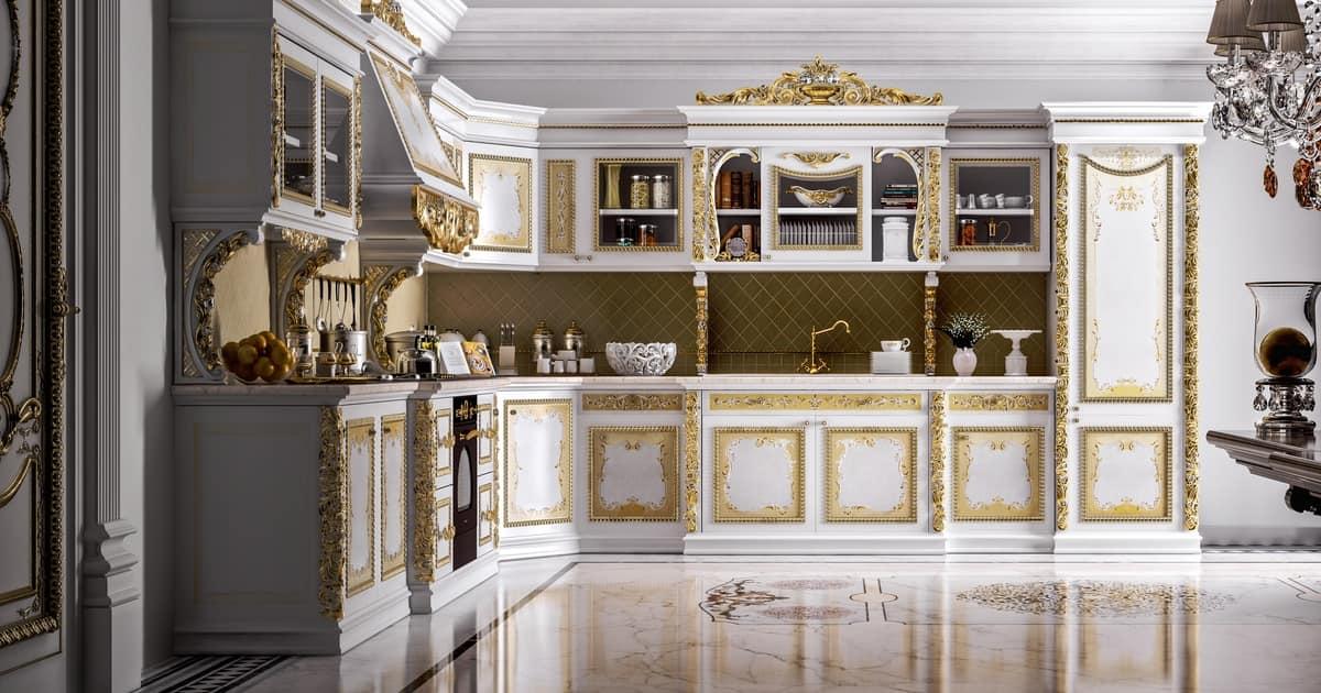 طراحی آشپزخانه سلطنتی 18
