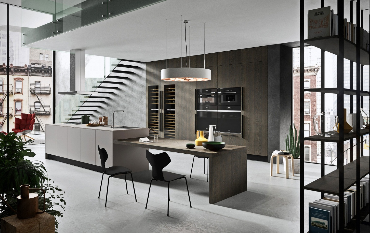 طراحی آشپزخانه مدرن 17