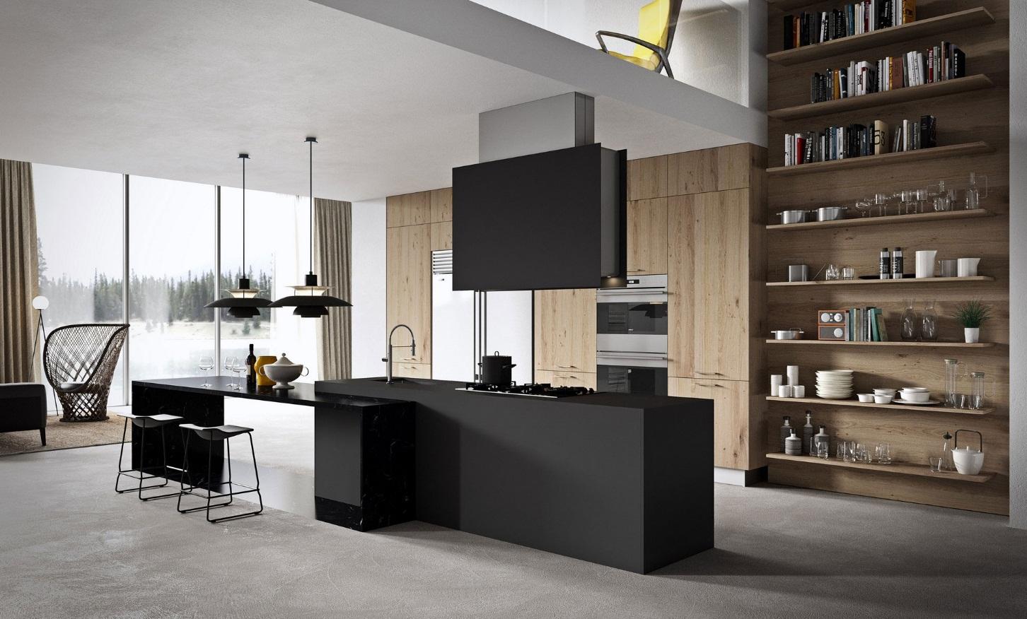 طراحی آشپزخانه مدرن 18