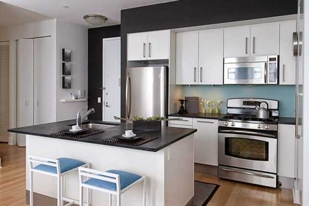 طراحی آشپزخانه مدرن 21