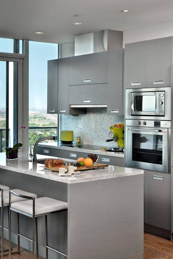 طراحی آشپزخانه مدرن 23