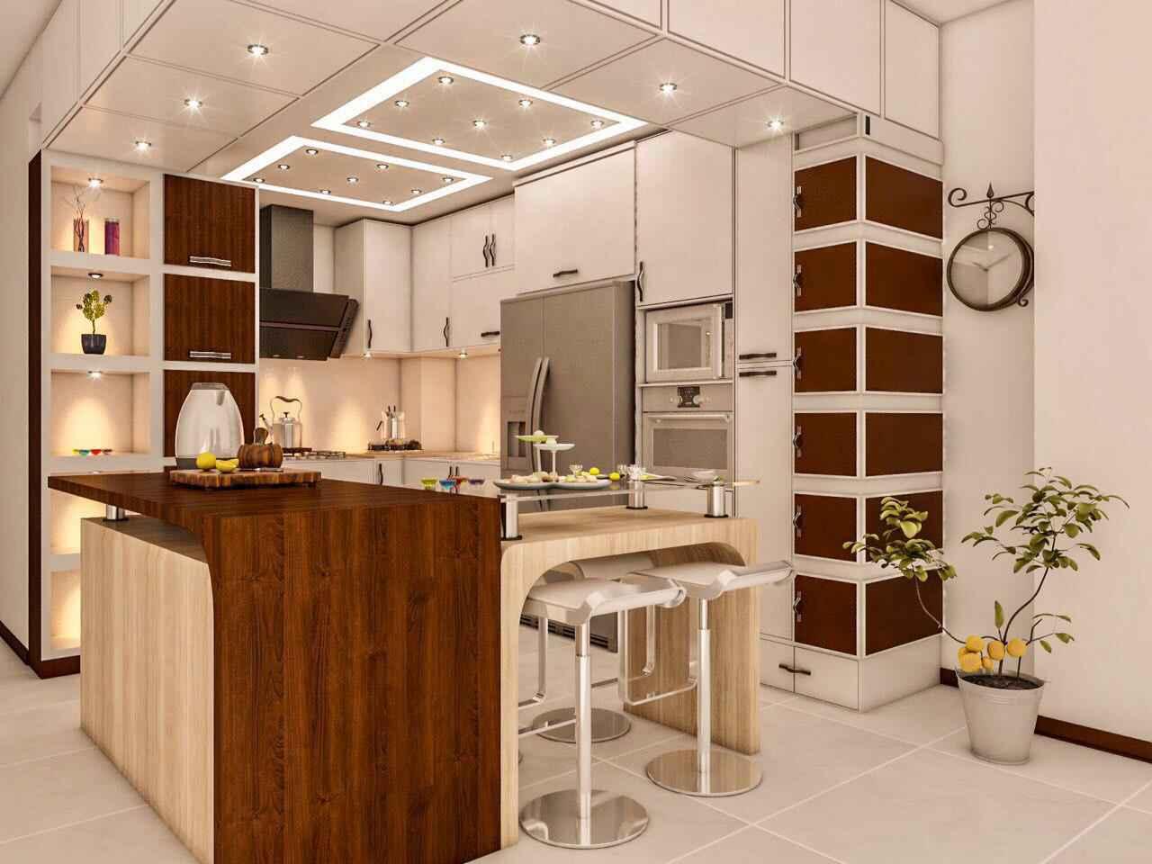 طراحی آشپزخانه مدرن 25
