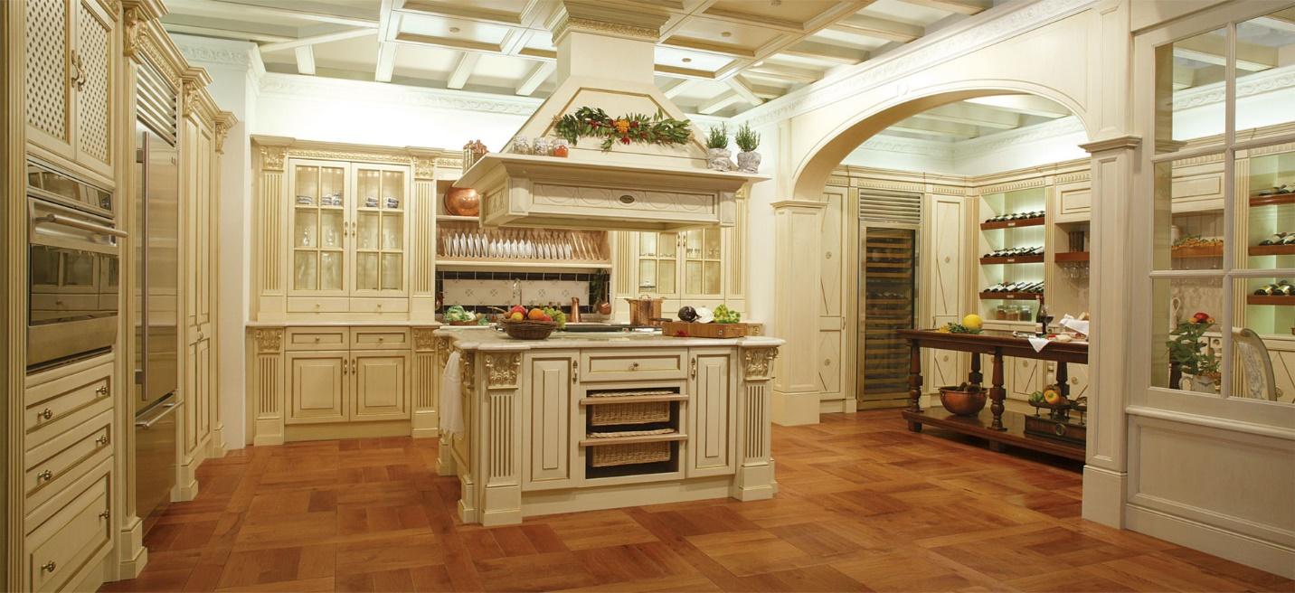 طراحی آشپزخانه سلطنتی 3