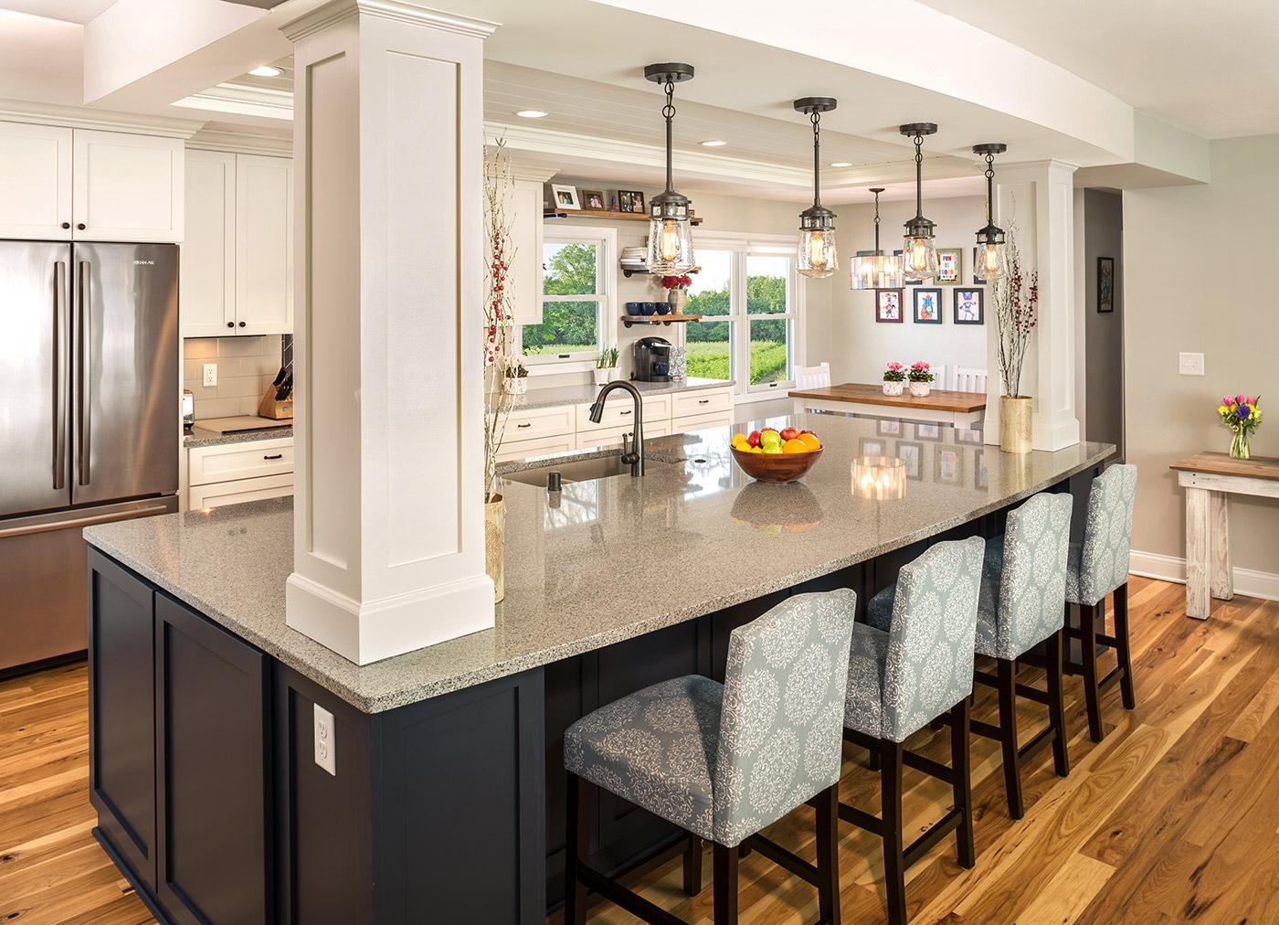 طراحی اپن آشپزخانه 4