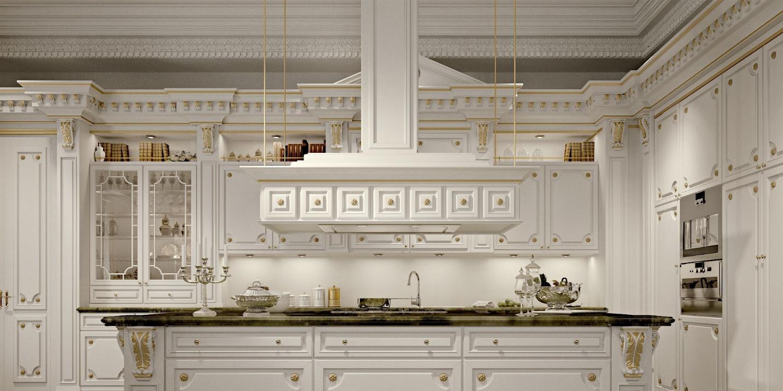 طراحی آشپزخانه سلطنتی 6