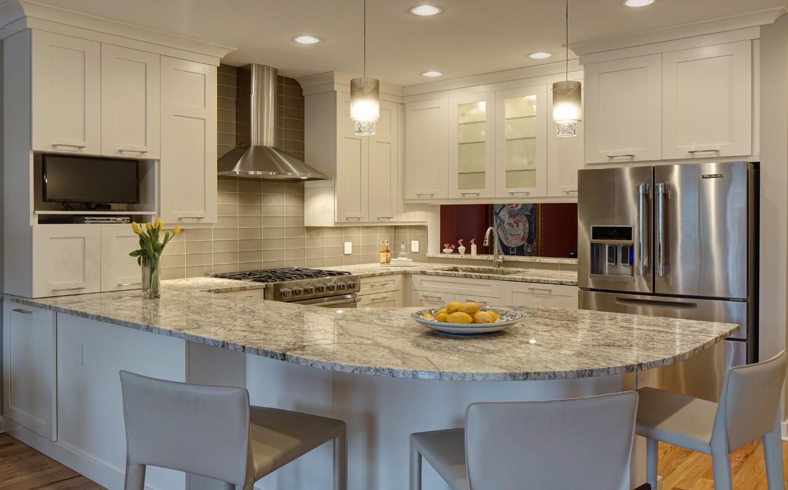 طراحی اپن آشپزخانه 7