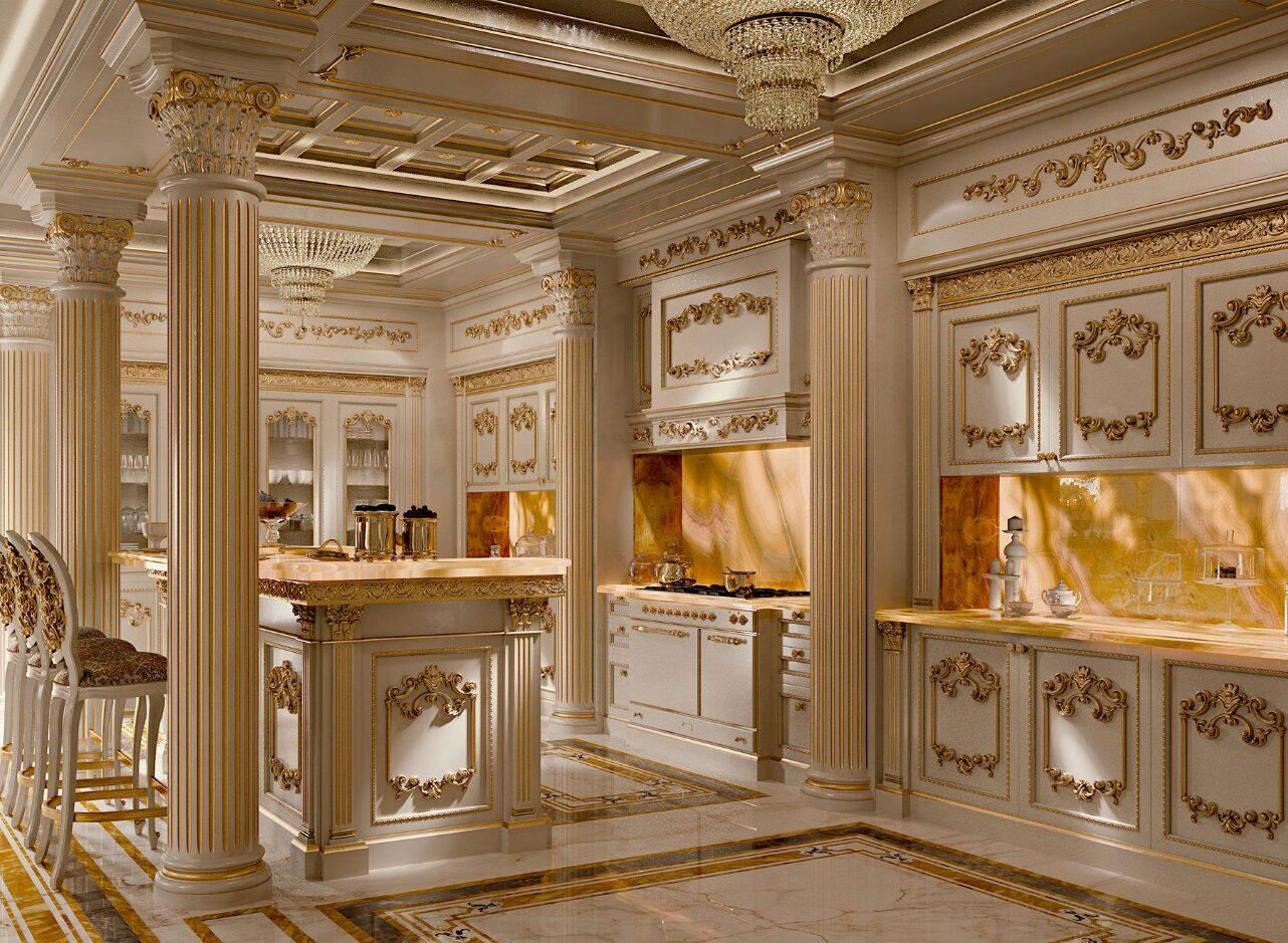 طراحی آشپزخانه سلطنتی 8