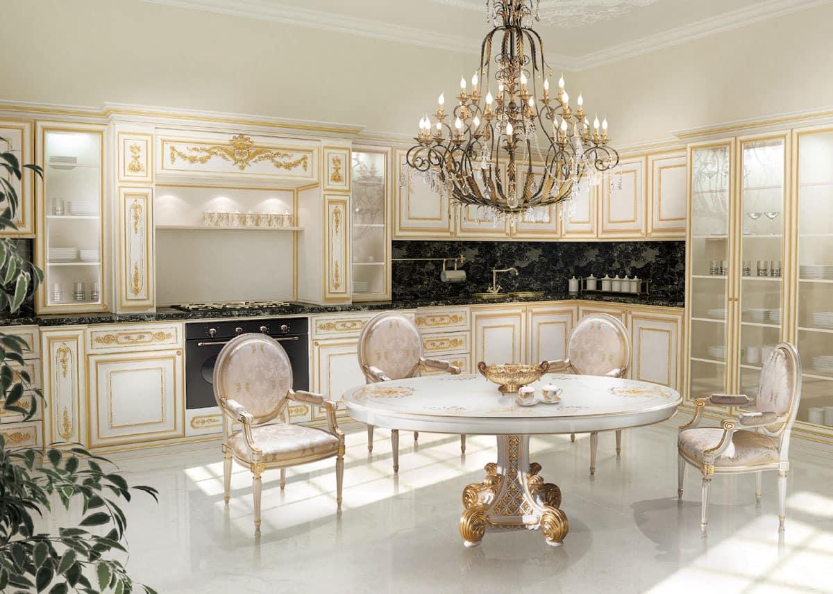 طراحی آشپزخانه سلطنتی 9