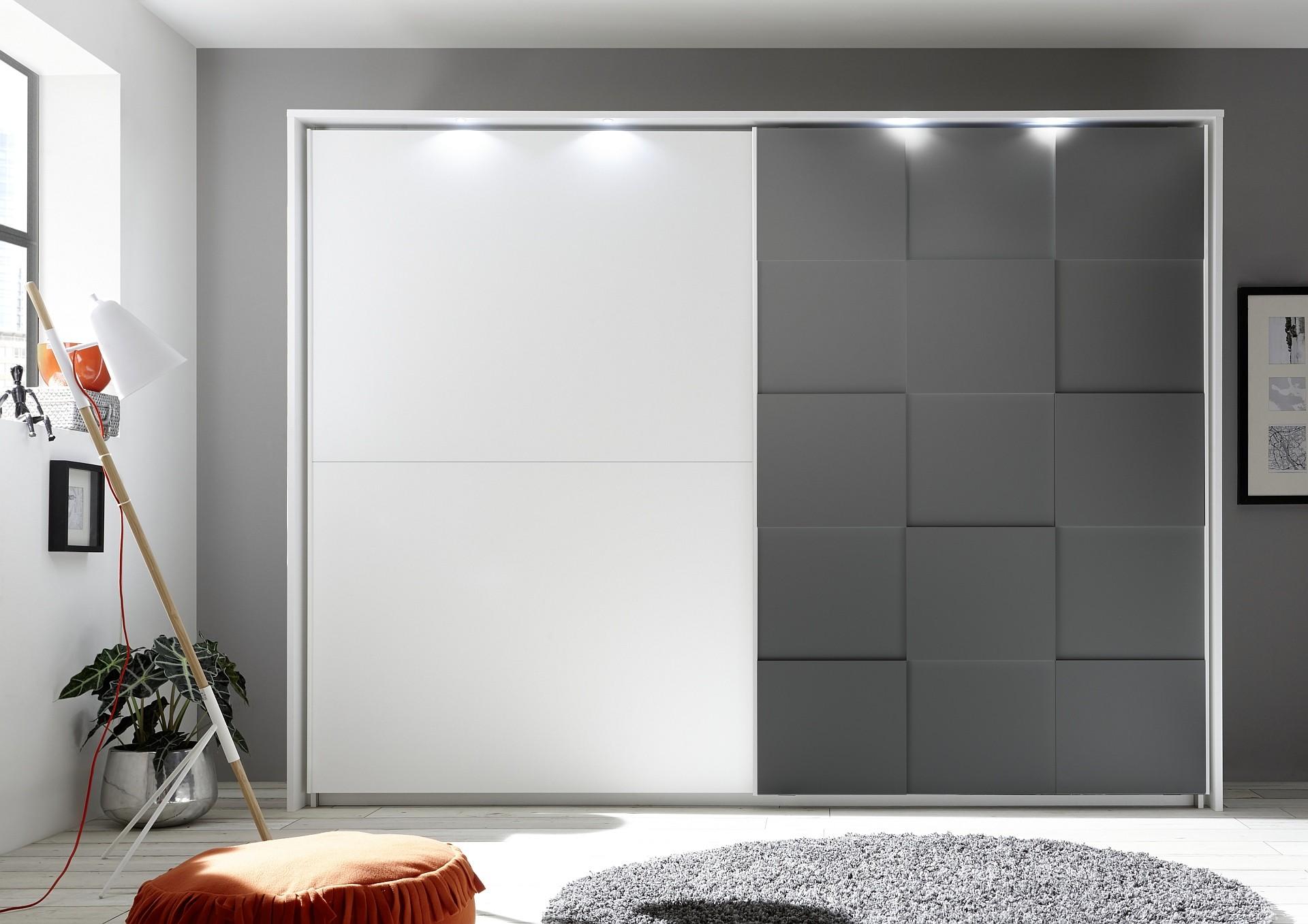 کمد دیواری سفید مدرن 27