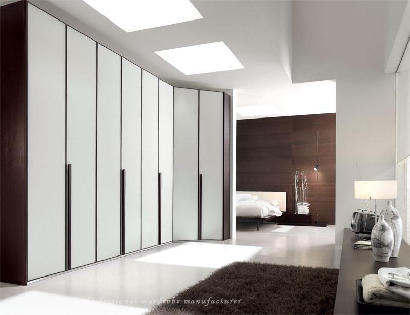 کمد دیواری سفید مدرن 29