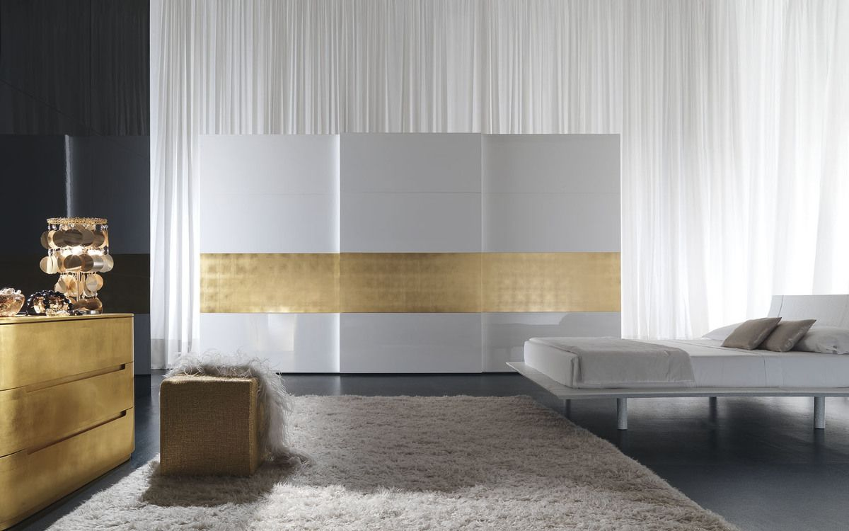 کمد دیواری سفید مدرن 20