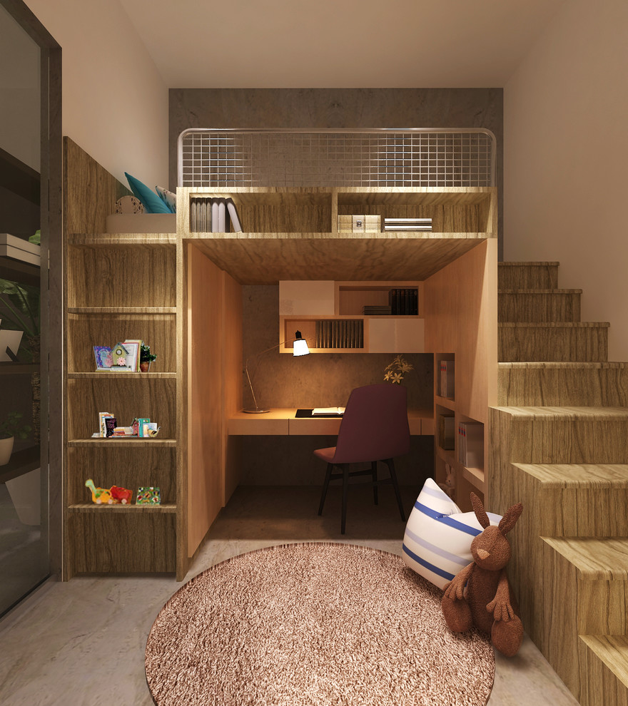کمد دیواری اتاق کوچک 1