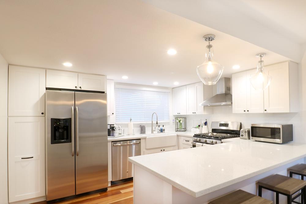 طراحی آشپزخانه اپن 10