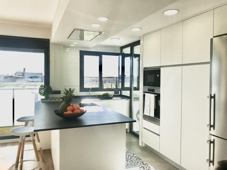 طراحی آشپزخانه اپن 11