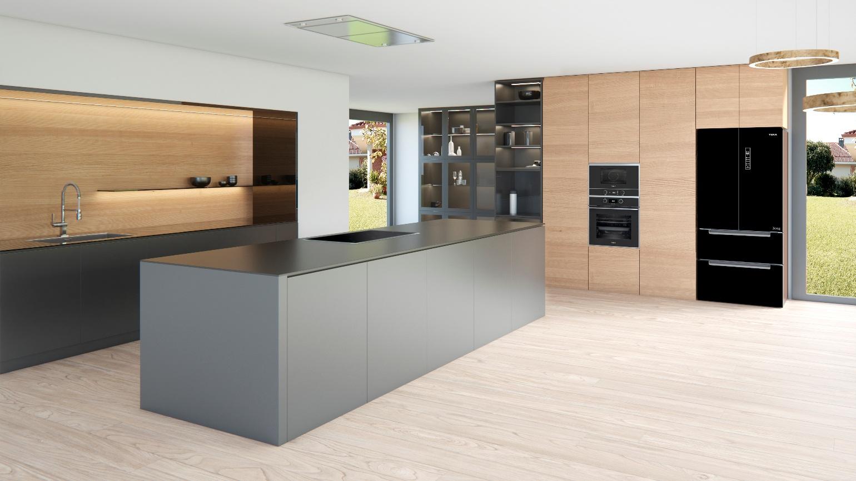 طراحی آشپزخانه اپن 12