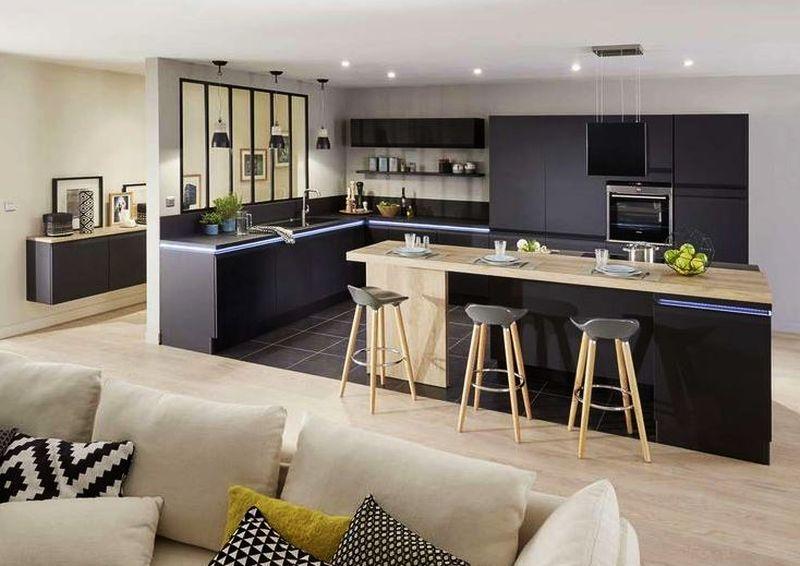 طراحی آشپزخانه اپن 13