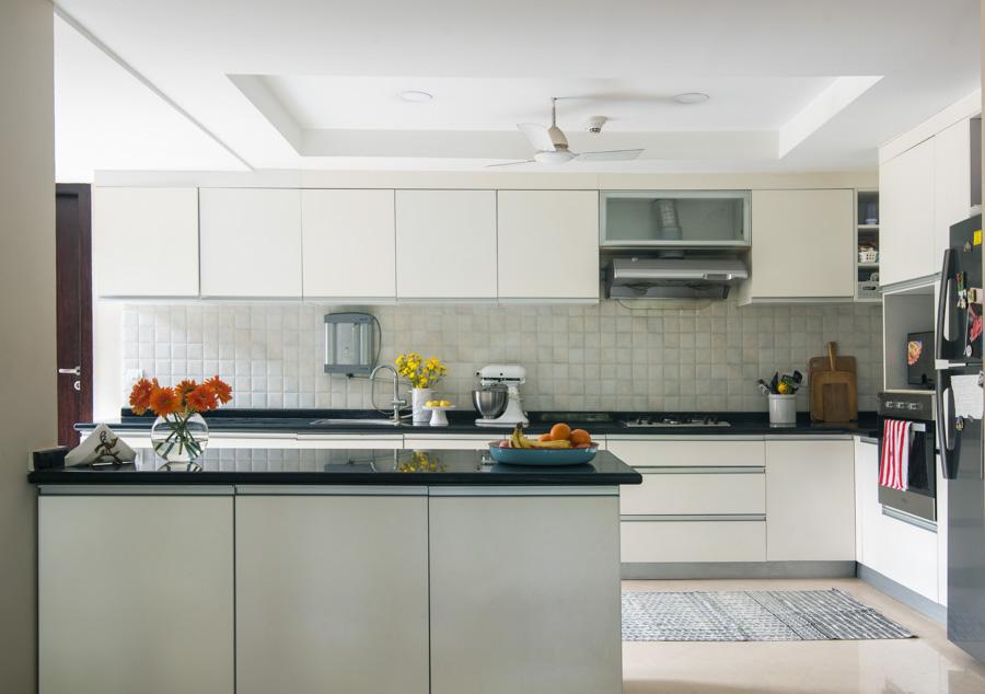 طراحی آشپزخانه اپن 14