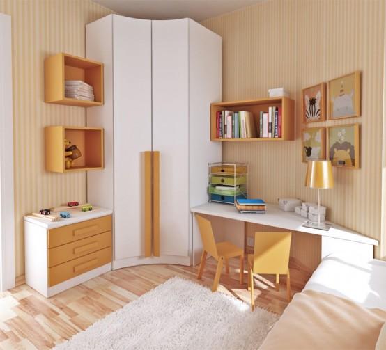 کمد دیواری اتاق کوچک 17