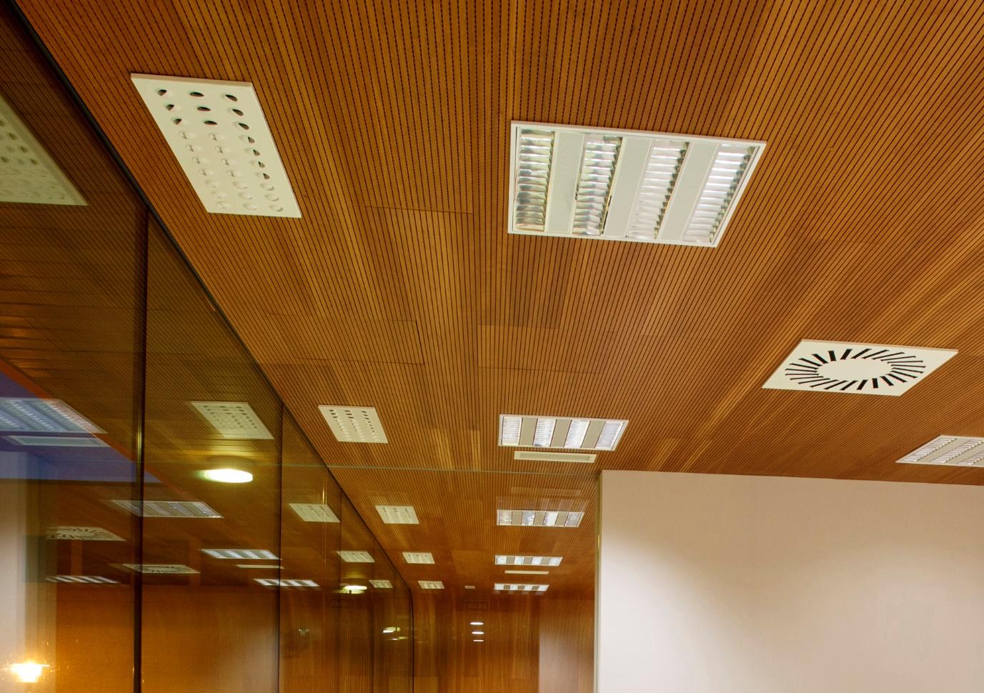 سقف کاذب چوبی 2