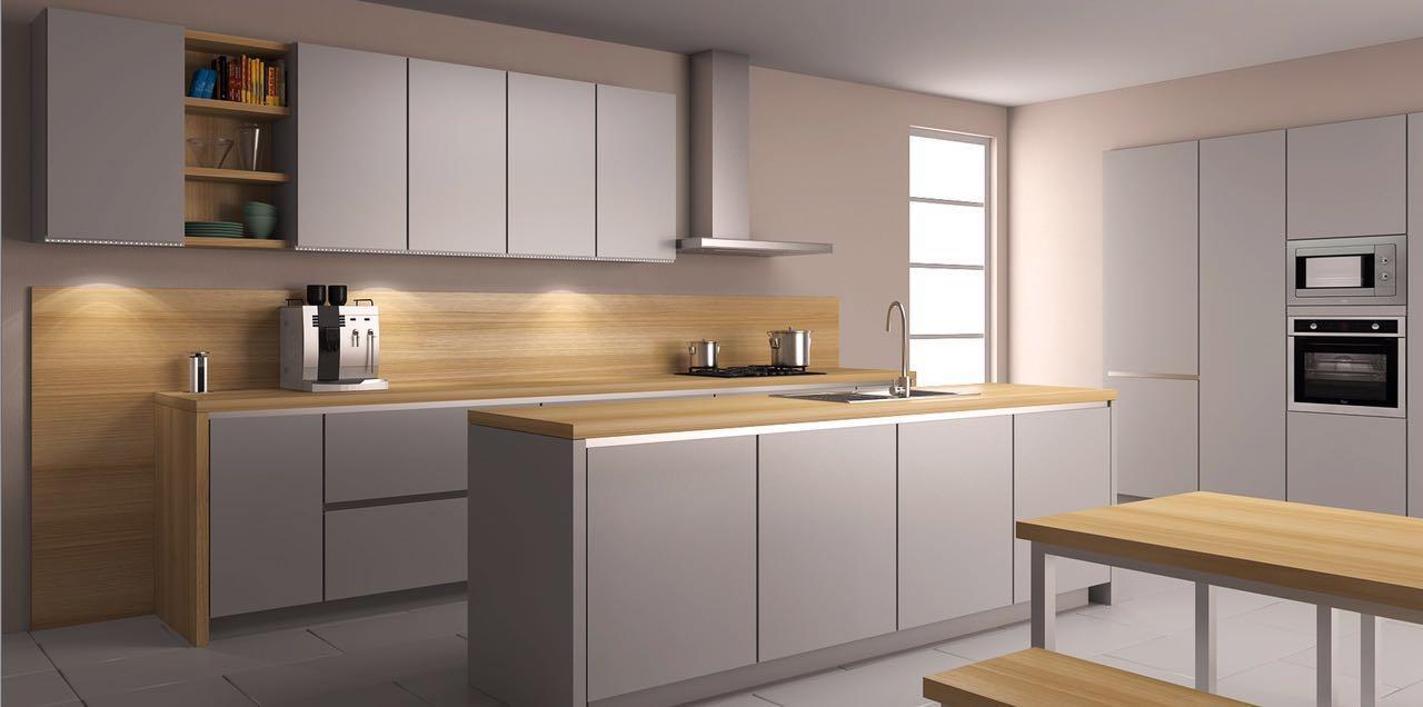 طراحی آشپزخانه اپن 2