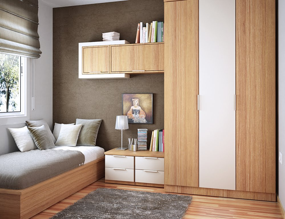 کمد دیواری اتاق کوچک 2