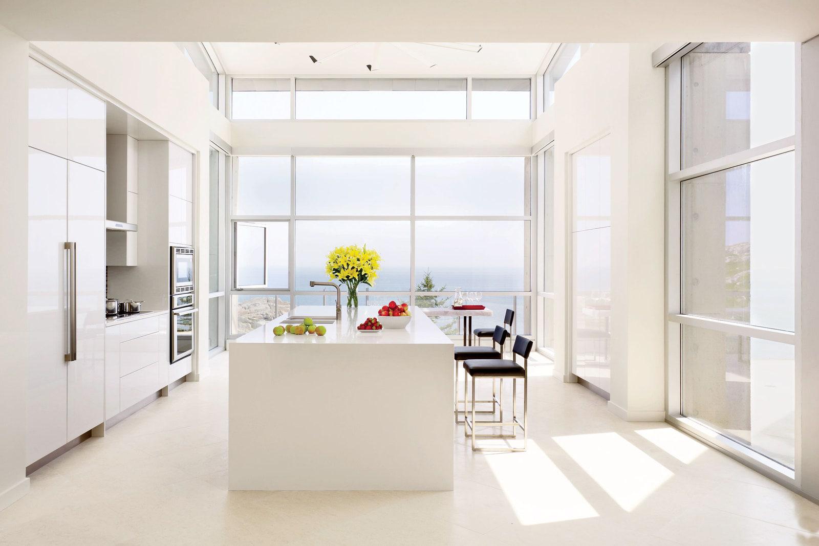 دیزاین آشپزخانه بزرگ 3