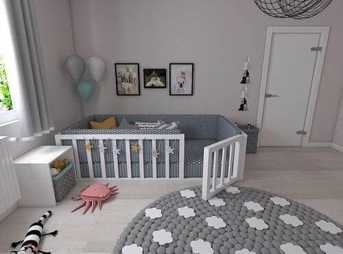 دکوراسیون اتاق نوزاد 2