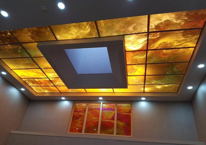 مدل سقف کاذب 47