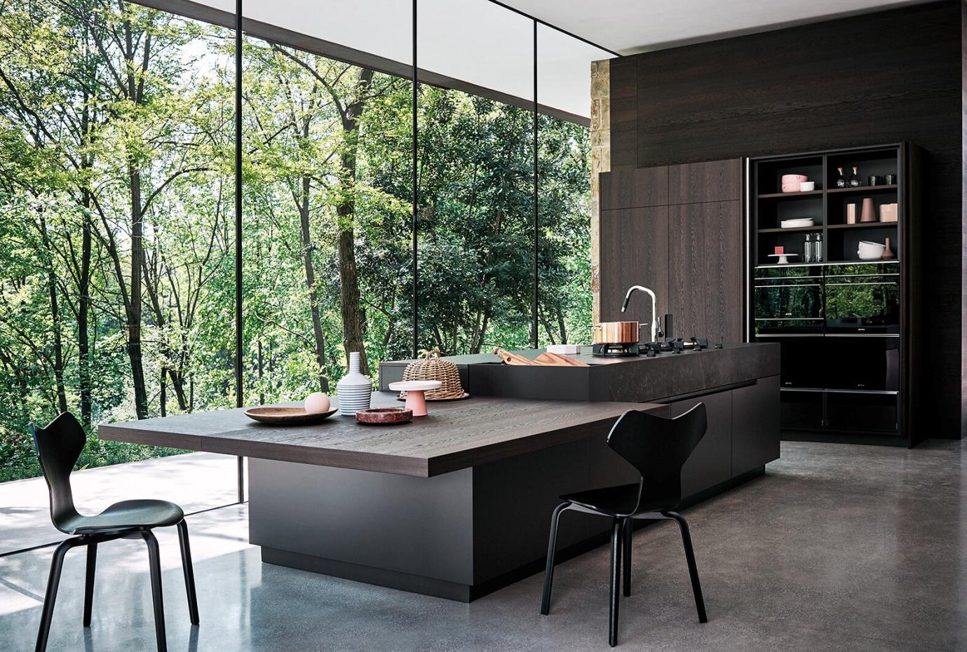 دیزاین آشپزخانه بزرگ 4