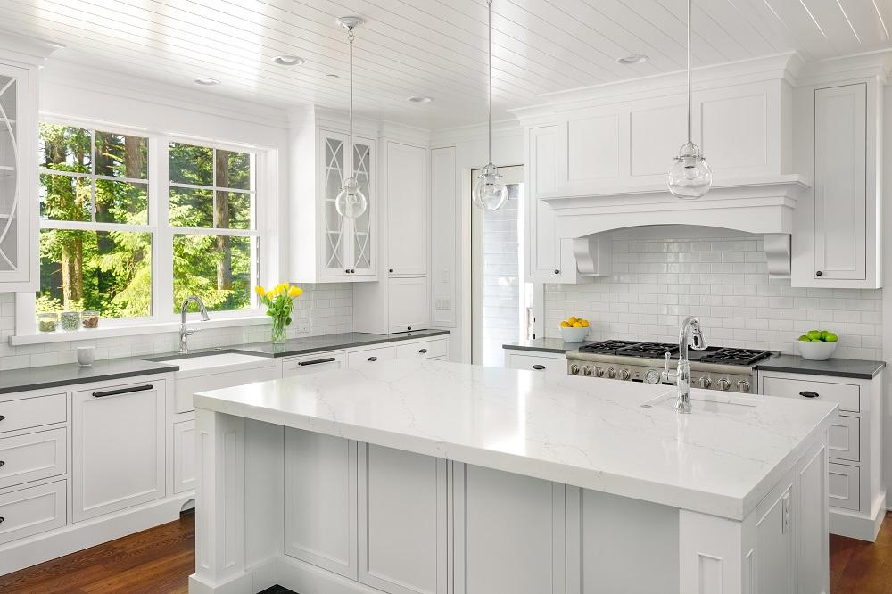 طراحی آشپزخانه اپن 7