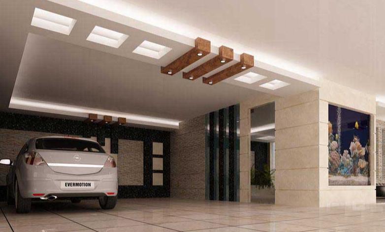 سقف کاذب چوبی پارکینگ 13