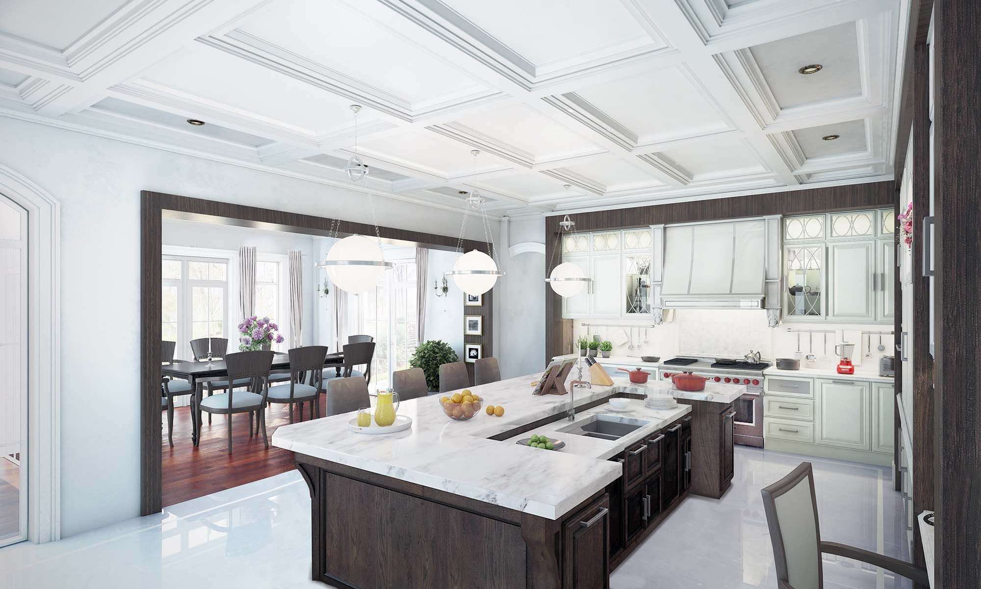 طراحی آشپزخانه جدید 2
