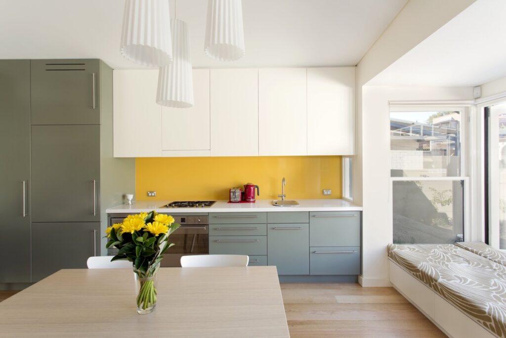 آشپزخانه یک دیواره 4