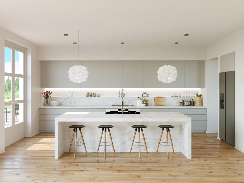 آشپزخانه یک دیواره 41