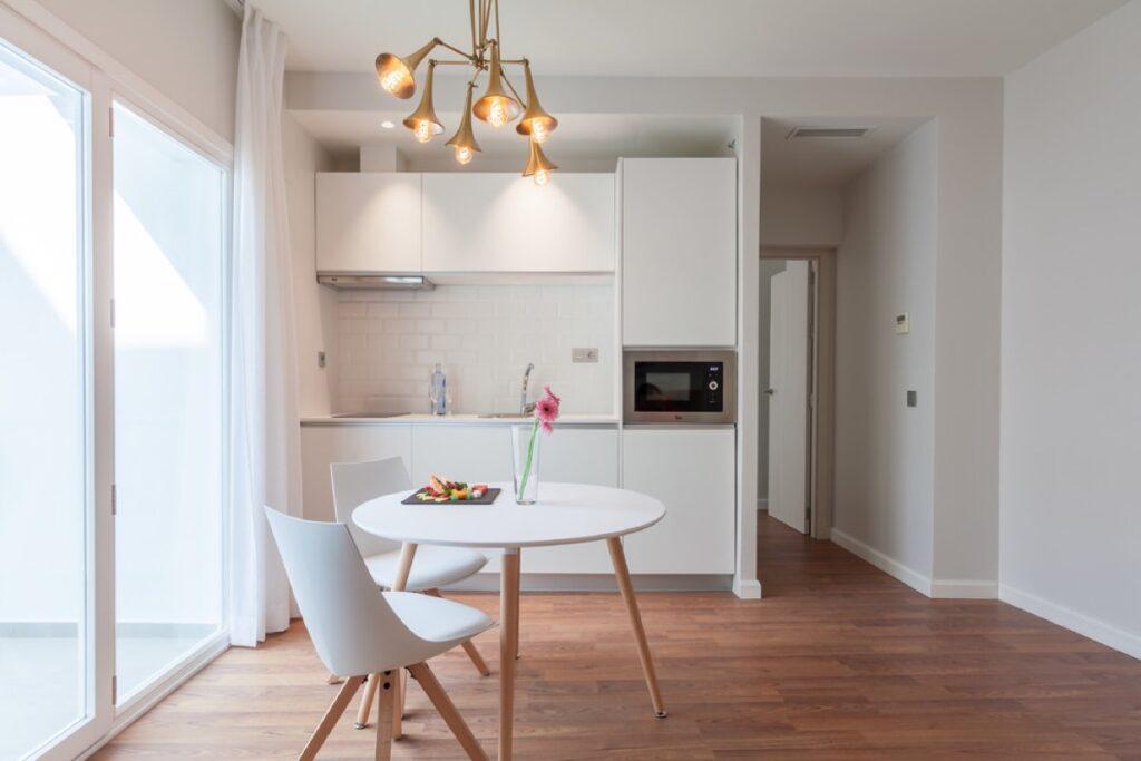 آشپزخانه یک دیواره 43