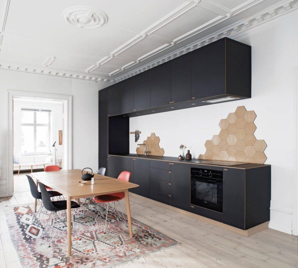 آشپزخانه تک دیواره 31