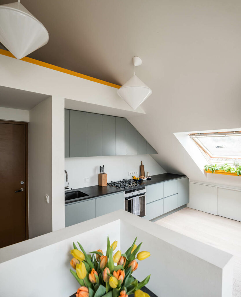 آشپزخانه یک دیواره 18