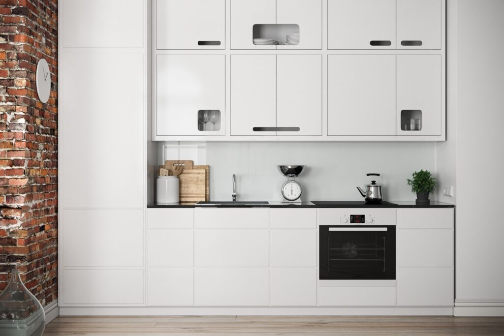 آشپزخانه یک دیواره 51