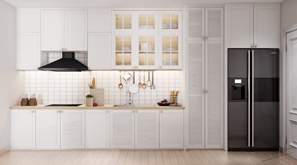 آشپزخانه یک دیواره 52