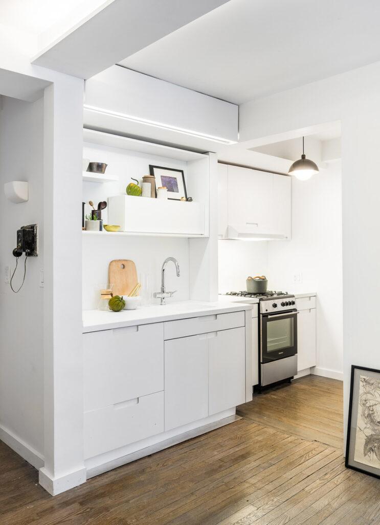 آشپزخانه یک دیواره 28