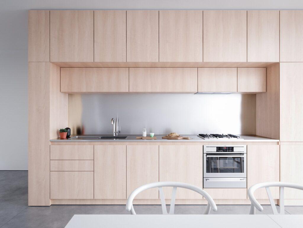آشپزخانه یک دیواره 37