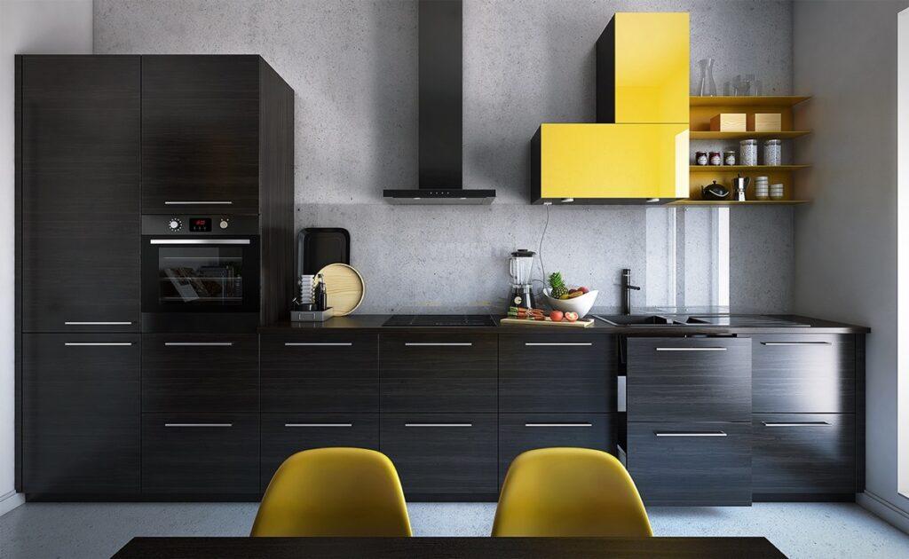 آشپزخانه یک دیواره 11