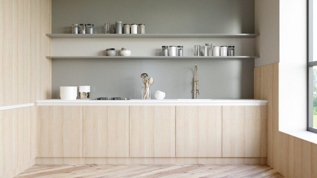 آشپزخانه یک دیواره 25