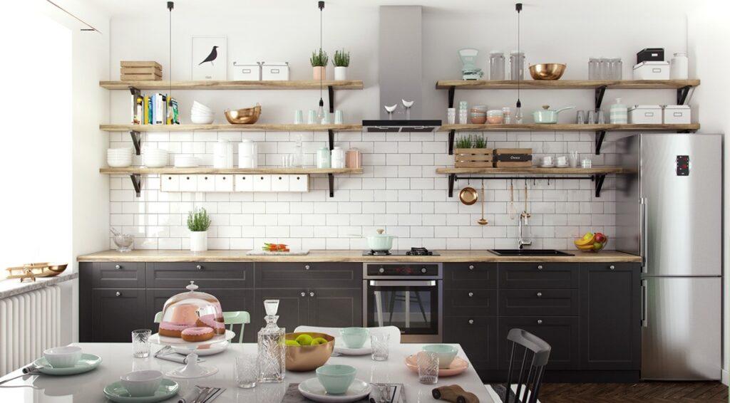آشپزخانه یک دیواره 26