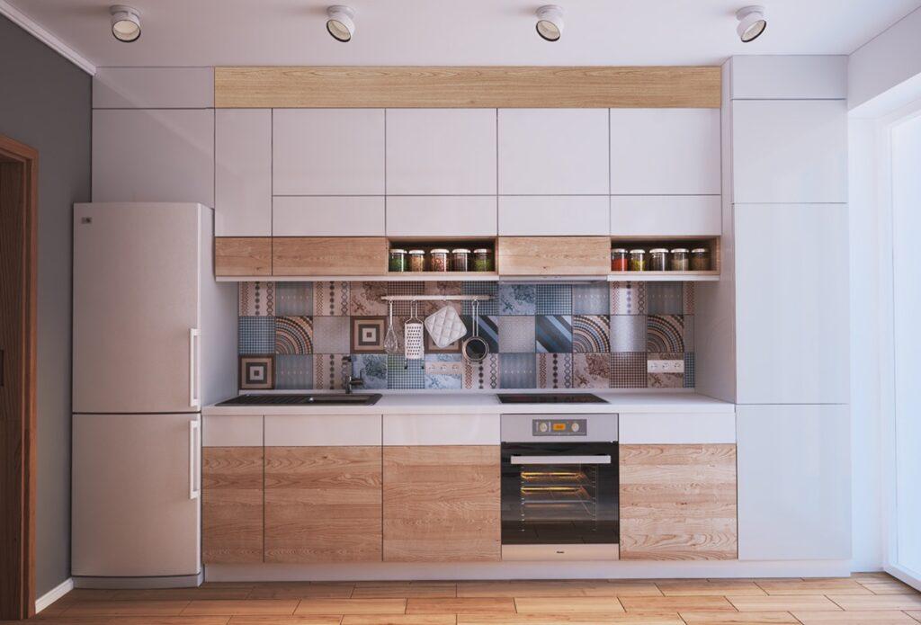 آشپزخانه یک دیواره 30