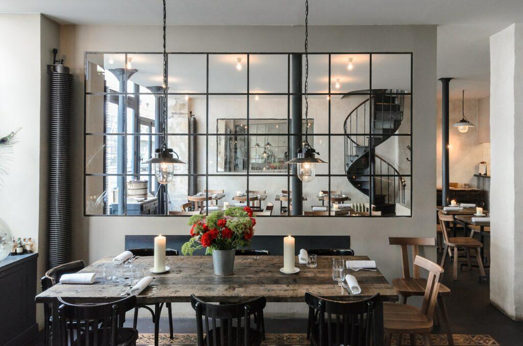 طراحی لاکچری رستوران داخلی (8)