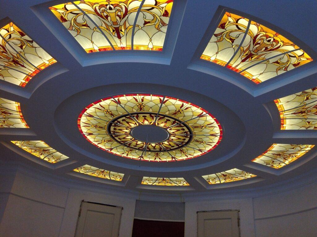 سقف شیشه ای کاذب