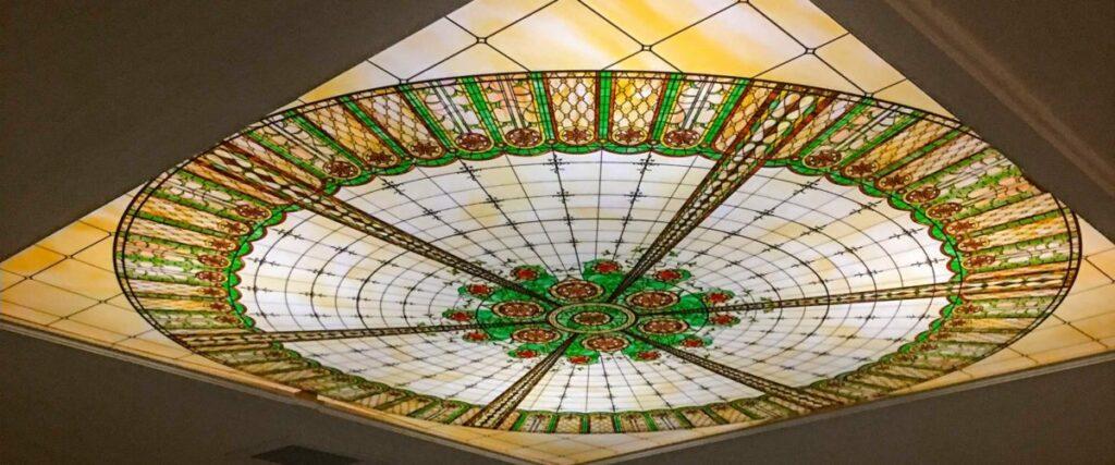 سقف های کاذب شیشه ای