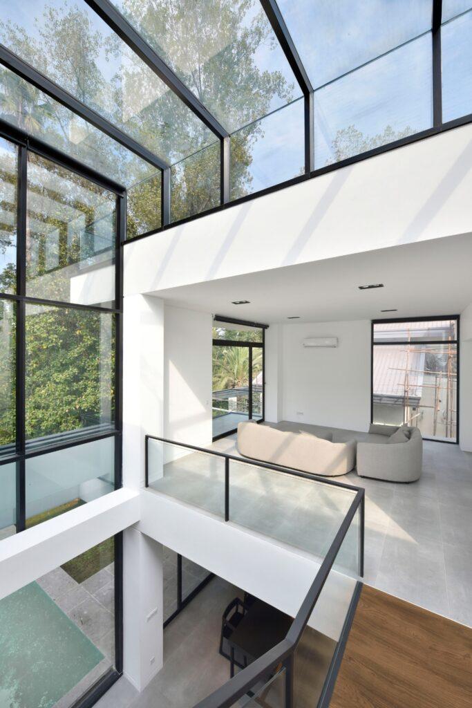سقف کاذب شیشه ای (10)